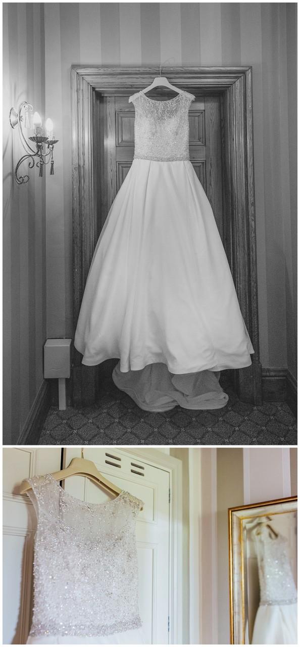 Ronald Joyce bridal dress