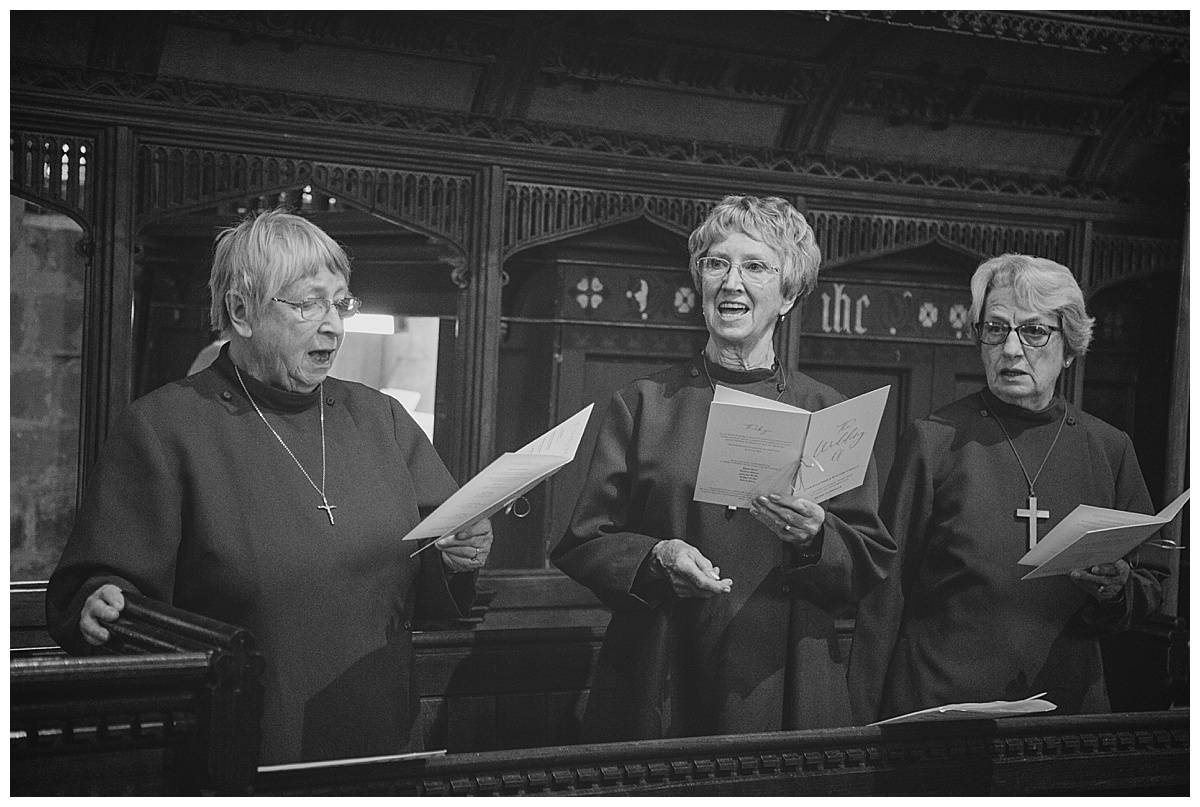 St Michaels church choir