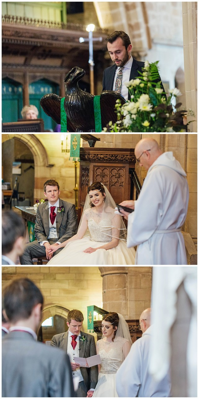 St Michaels church ceremony