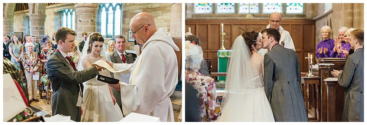St Michaels church first kiss