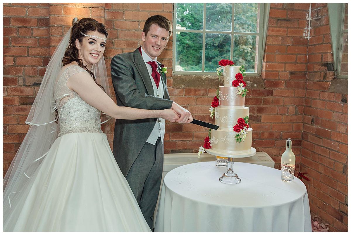 cake cutting Gorcott Hall
