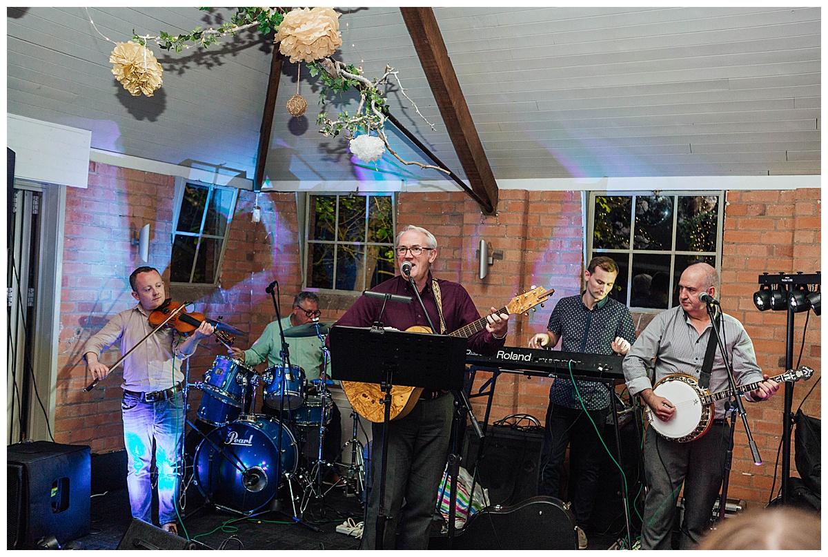 ceilidh band Gorcott Hall