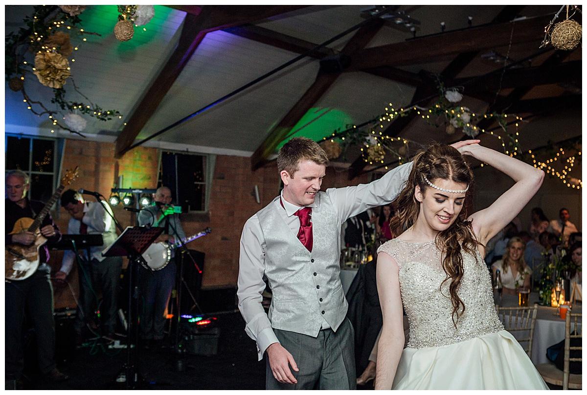 dancing Gorcott Hall
