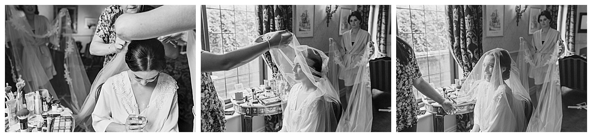 Bridal prep Coombe Abbey