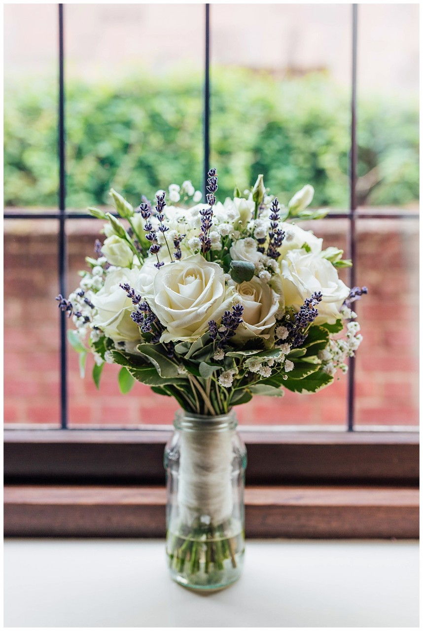 Bridal Bouquet Flowers by Michelle Coombe Abbey