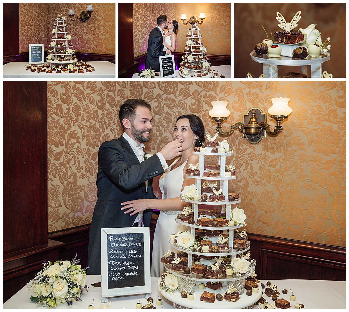 Cake cutting Coombe Abbey