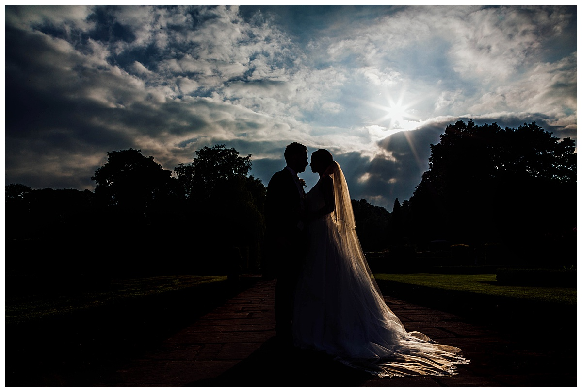 silhouette Coombe Abbey