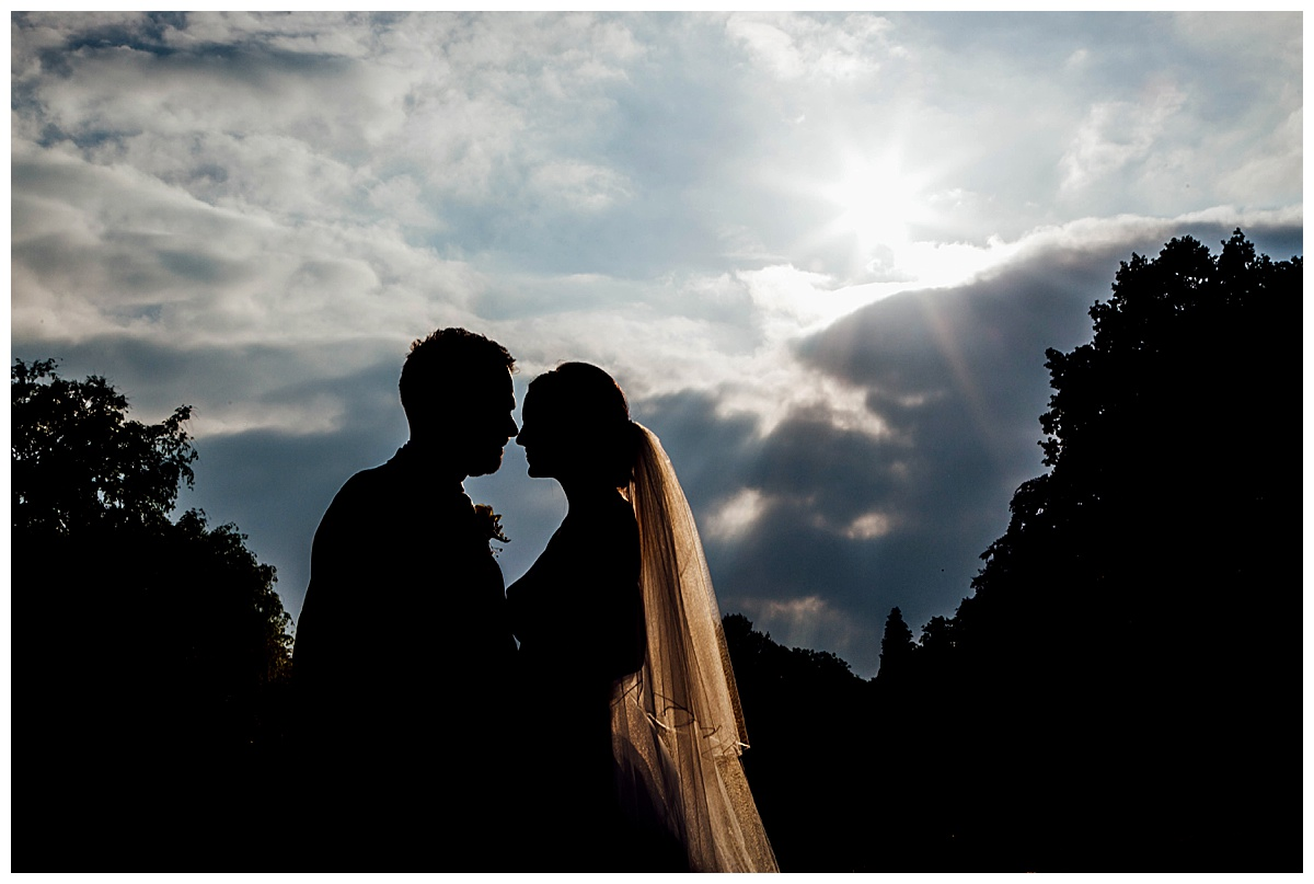 Coombe Abbey silhouette