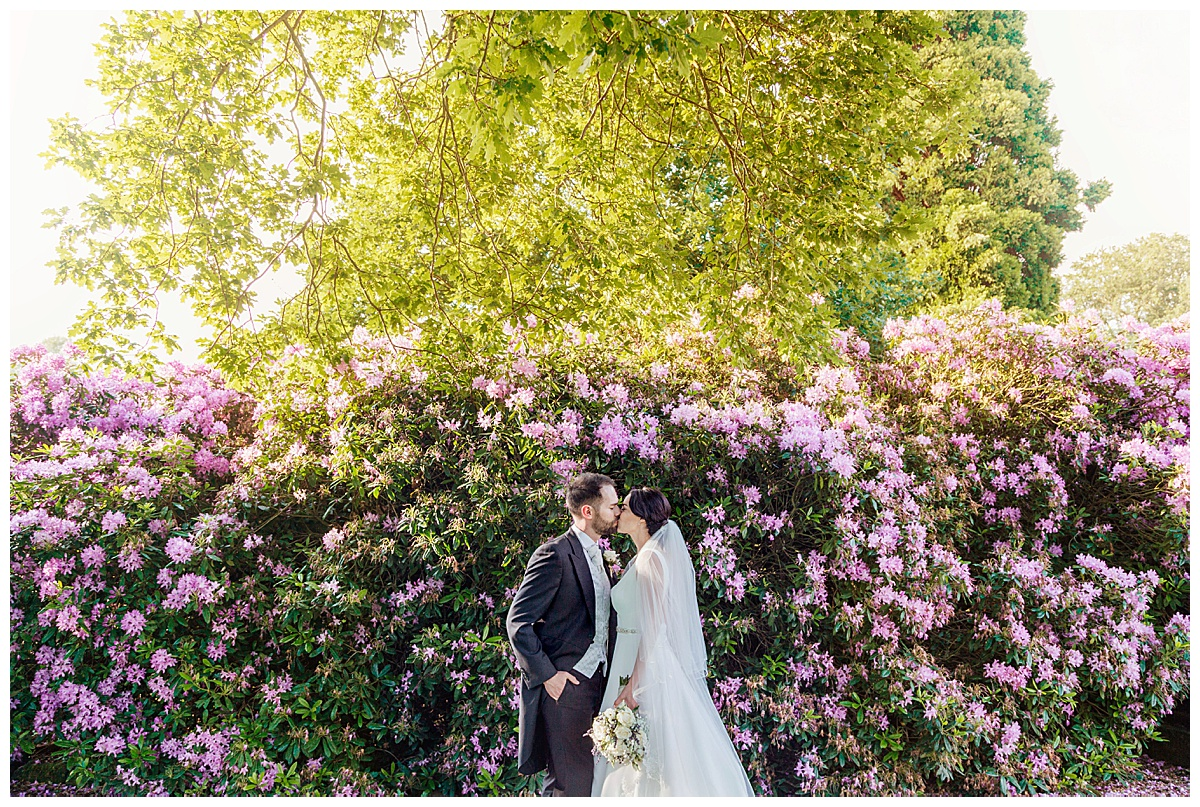 Bride & Groom Coombe Abbey
