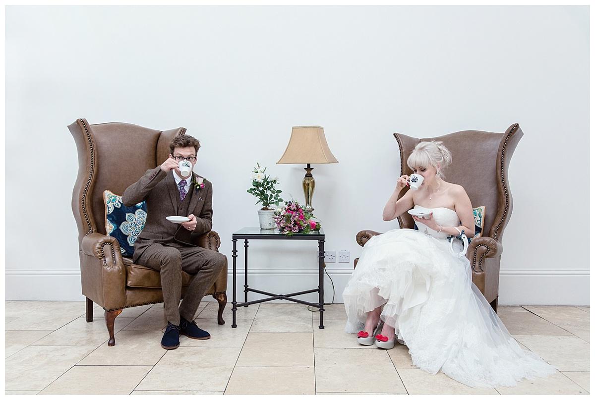 gin wedding at fazeley studios
